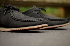 Clarks Wallabee Run – Black