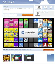 This webmix has apps and links for the 4 domains of listening, speaking, reading, and writing. Website: www.symbaloo.com/mix/telpas1