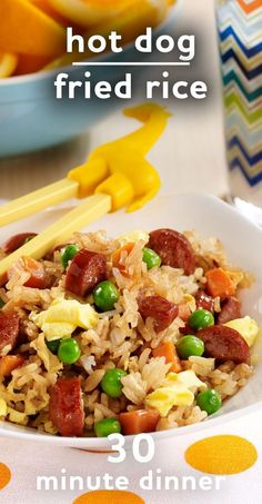 ... fried rice easy kid friendly dinner hot dog fried rice more easy