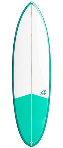 Shopping the correct fish surfboard for new surfer.