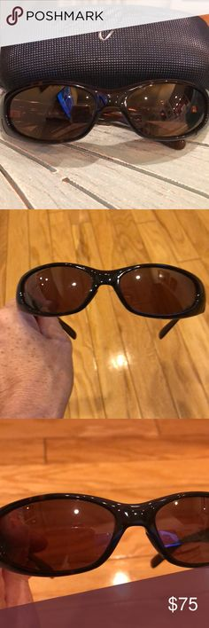 cea01844889 Shop Women s Maui Jim Brown size OS Sunglasses at a discounted price at  Poshmark. No scratches. Fits smaller frame face but unisex.