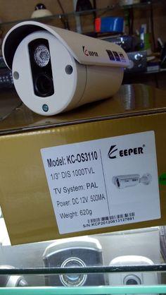 Kamera CCCTV Keeper 1 Mata 1000 TVL untuk Outdoor dan Indoor