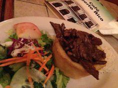 Restaurante - Cafe Puerto Rico - San Juan, PR - (Skirt Steak Mofongo with Yuca)
