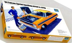 Trumpeter 1964 Ford Falcon Sprint Hardtop  Street or Strip box art