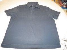 Faconnable Facoclub navy blue XL Mens polo shirt cotton GUC @ #Faonnable #PoloRugby