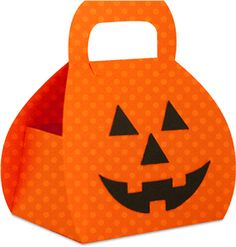 pumpkin box----------------I think I'm in love with this shape from the Silhouette Online Store!
