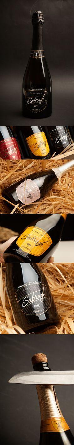 Sabrage. #sabrage,  #unblvbl, #branding, #package, #design, #packingalcohol, #pack, #packing, #champagne, #sparklingwine, #saberov