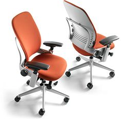 Leap: Moves as you move. Great for computer intensive environments. Mimics the support of your spine. Great for use as a primary chair and ideal for long-term sitting.