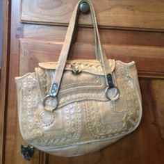"""Jamin Puech leather bag. Saddle/camel color leather - great detail! Very good condition. Approx 12"""" x 8"""" from Paris designer Jamin Puech Jamin Puech Bags Satchels"""