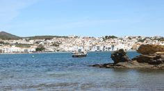 Cadaques, Spain #travel #destination Cadaques Spain, Spain Travel Guide, Fishing Villages, The Province, Beautiful Architecture, Local Artists, Over The Years, Coast, Water