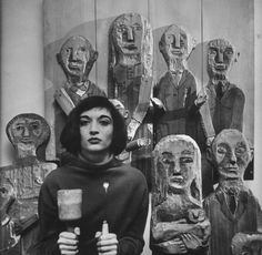 Marisol Escobar 1957 | Faces of the Creators: LIFE Walter Sanders