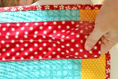 Easy DIY Quilt Hanging Sleeve - Almost Entirely by Machine  Lee/Freshly Pieced for We All Sew