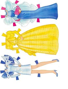 Kathleen Taylor's Dakota Dreams: paper doll