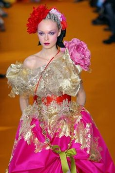 Glorious gown...