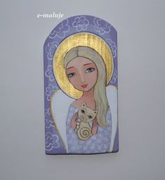 Pictures To Paint, Art Pictures, Beaded Angels, Angel Drawing, Mother Art, Christmas Wood Crafts, Guardian Angels, Angel Art, Native Art