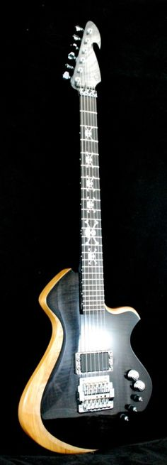 Paul Eliasson Guitars no. 6 Lardys Chordophone of the day 2017 --- https://www.pinterest.com/lardyfatboy/