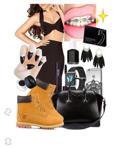 """""""DateNight"""" by birthdaygirl247 ❤ liked on Polyvore featuring moda, INIKA, Givenchy, Timberland, NARS Cosmetics, Dorothy Perkins, Essie i Wrigley's"""
