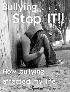Bullying - I loved this little post. It truly made me stop and think.