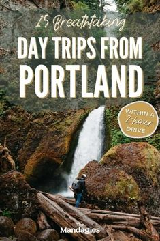 Discover the best day trips from Portland, Oregon in this unique guide to the PNW! We're sharing Portland day trips to the Oregon coast, Mount Hood, Columbia River Gorge, Cascade Mountains and more! | Portland Oregon Day Trips #portland #oregon #oregoncoast #portlanditinerary #PortlandOR #mthood #cascademountains #columbiarivergorge #PNW #pacificnorthwest Pacific City, Pacific Northwest, Oregon Travel, Travel Usa, Oregon Waterfalls, Mount Hood, Willamette Valley, Cascade Mountains, Columbia River Gorge