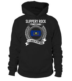 Slippery Rock, Pennsylvania Its Where My Story Begins T-Shirt #SlipperyRock