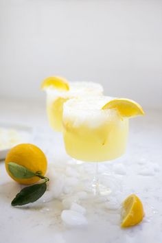 Winter is the perfect time to make Meyer Lemon Margaritas with a lemon zest, sugar and salt dipped rim. Sweet, tart and delicious!