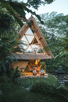 Off-the-Grid Cabin Retreat in the Bali Jungle. Photos by OWLCTURNAL
