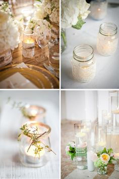 wrapped wedding candles ideas for candle wedding centerpieces weddings place 590x887