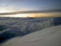Rebmann Glacier at Kilimanjaro