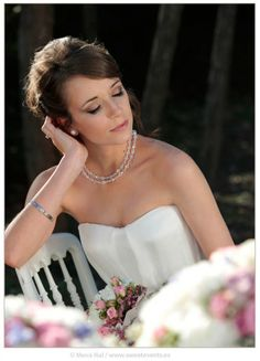 Romantic Love. Coordination: Sweet Magical Moments. Photos by Sweet Events. Romantic and sophisticated bride.