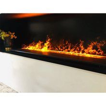 Water Vapor Fireplace Child Safe Led Flames Of Fine Plumes Of Steam Ventless Realistic Electric F Realistic Electric Fireplace Fireplace Electric Fireplace