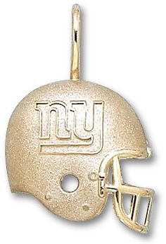 $41.95 New York Giants Helmet Sterling Silver Charm/PendantFrom Logo Art $41.95