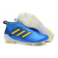 47a19da6ff Adidas ACE 17 Purecontrol FG Dragon Football Boots Yellow Blue Football  Shoes