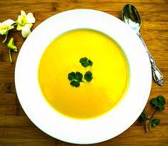 Healthy Coconut Oil Yellow Split Pea Soup