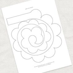 FREE paper rose template and lots of other lovely printables!