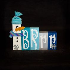 WOOD Creations: Winter Crafts Are Here!: