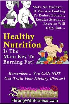 New blog post: Healthy Nutrition Is The Main Key To Losing Fat http://flirtingwithfitness.com/blogs/champigny/getting-back-in-shape/healthy-nutrition-is-the-main-key-to-losing-fat/