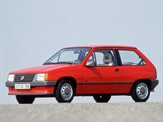 1982 Opel Corsa A Eigentlich der Traum von Auto. Breite Backen. gutmütig und Spaßfaktor