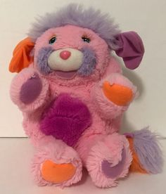 "1986 TCFC Popples Rare French Pink Edition Plush Popple 8""   eBay Plush, French, Toys, Pink, Ebay, Activity Toys, French People, Hot Pink, French Language"