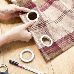 Follow our 3 simple steps and make new curtains to transform your window. Brought to you by Style at Home, for more ideas visit housetohome.co.uk