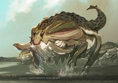 Mjolner - Amphibious War Beast by nJoo on DeviantArt