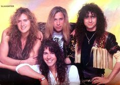Rock and Heavy Metal Pictures: Slaughter Photos