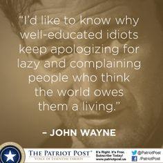 Humor: John Wayne — The Patriot Post