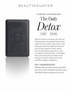 This product is so amazing  I had tried everything (antibiotics, prescription topicals...)for adult acne, nothing worked!  After just three uses of the charcoal cleansing bar I had noticeable improvement!  I'm hooked for life!