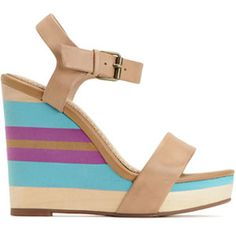 Step into Summer with Pretty Patterned Wedges