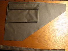 How to sew a frame bag. Bike Frame Bag, Bike Bag, Bikepacking Bags, Cycling Bag, Fat Bike, Bike Packing, Sewing, Archery, Camping