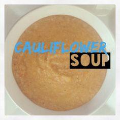 #cauliflower #soup #glutenfree #dairyfree #ms #multiplesclerosis #diet