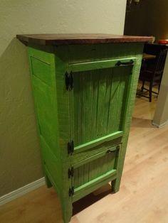 Barnwood Chimney Cabinet