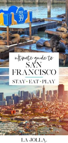 36 Best Things to Do in San Francisco: Cool Activities, Tours, & Free Fun - La Jolla Mom San Francisco City Tour, San Francisco Beach, San Francisco With Kids, San Francisco Travel, San Francisco Attractions, City Pass, Adventure Tours, Boat Tours, California Travel