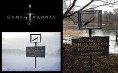 Warner Bros., Game of Thrones Season 3: Break glass