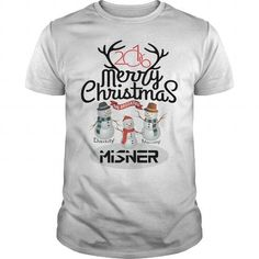 I Love Daddy - Mammy and MISNER: Merry Christmas with Family T shirts